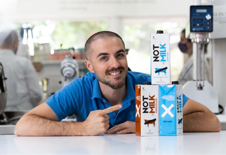 NotMilk инновационное растительное молоко