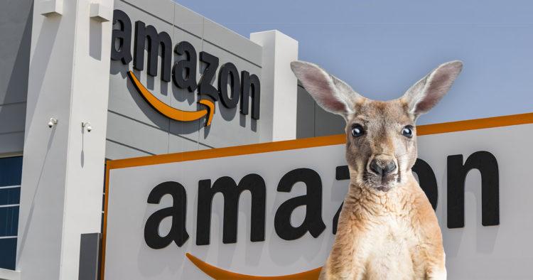 Amazon в Новой Зеландии